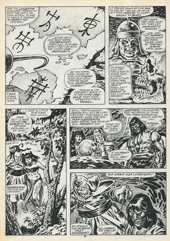 The Savage Sword Of Conan Issue #193 #194 - English 11