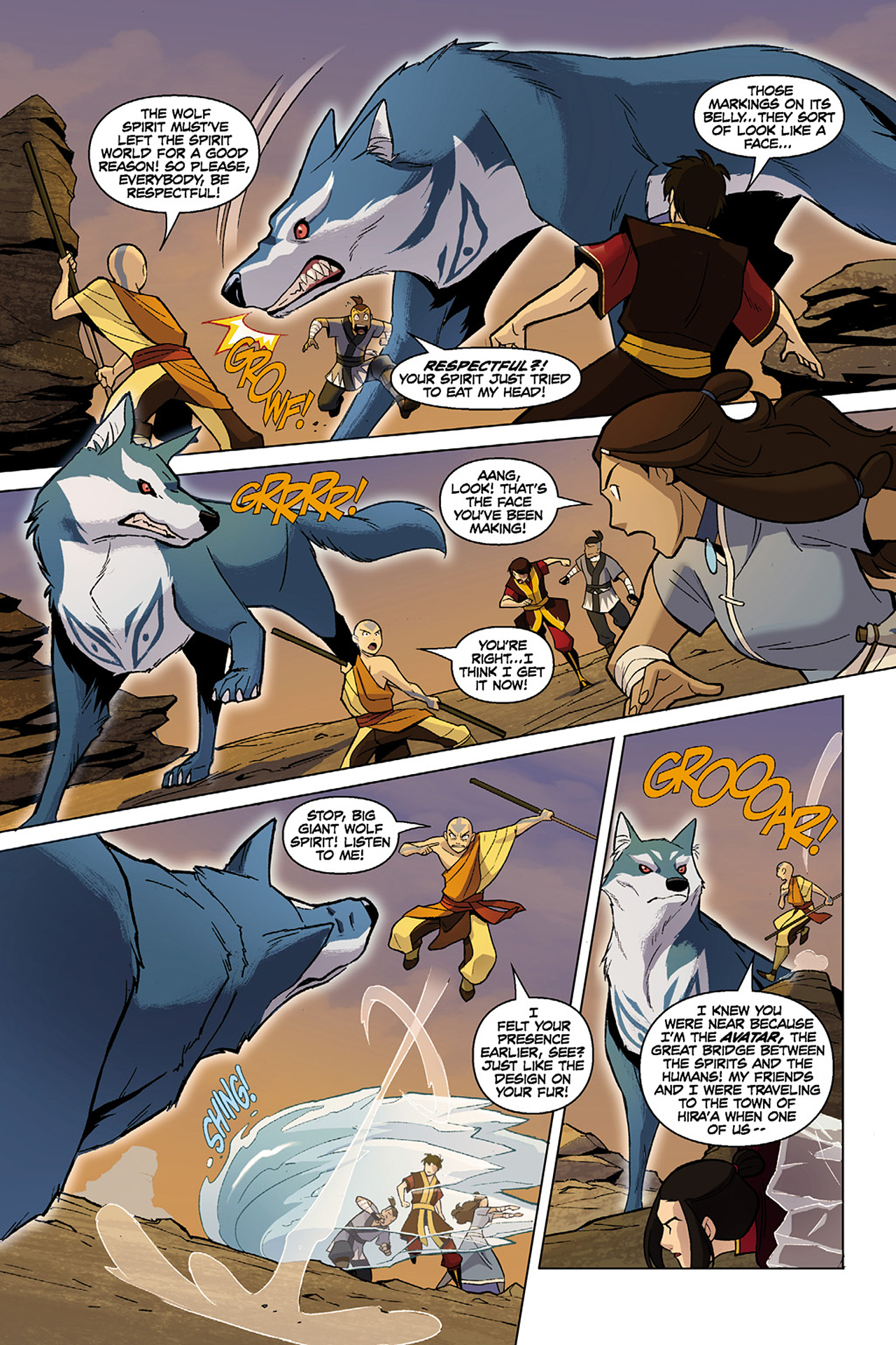 Read online Nickelodeon Avatar: The Last Airbender - The Search comic -  Issue # Part 1 - 63