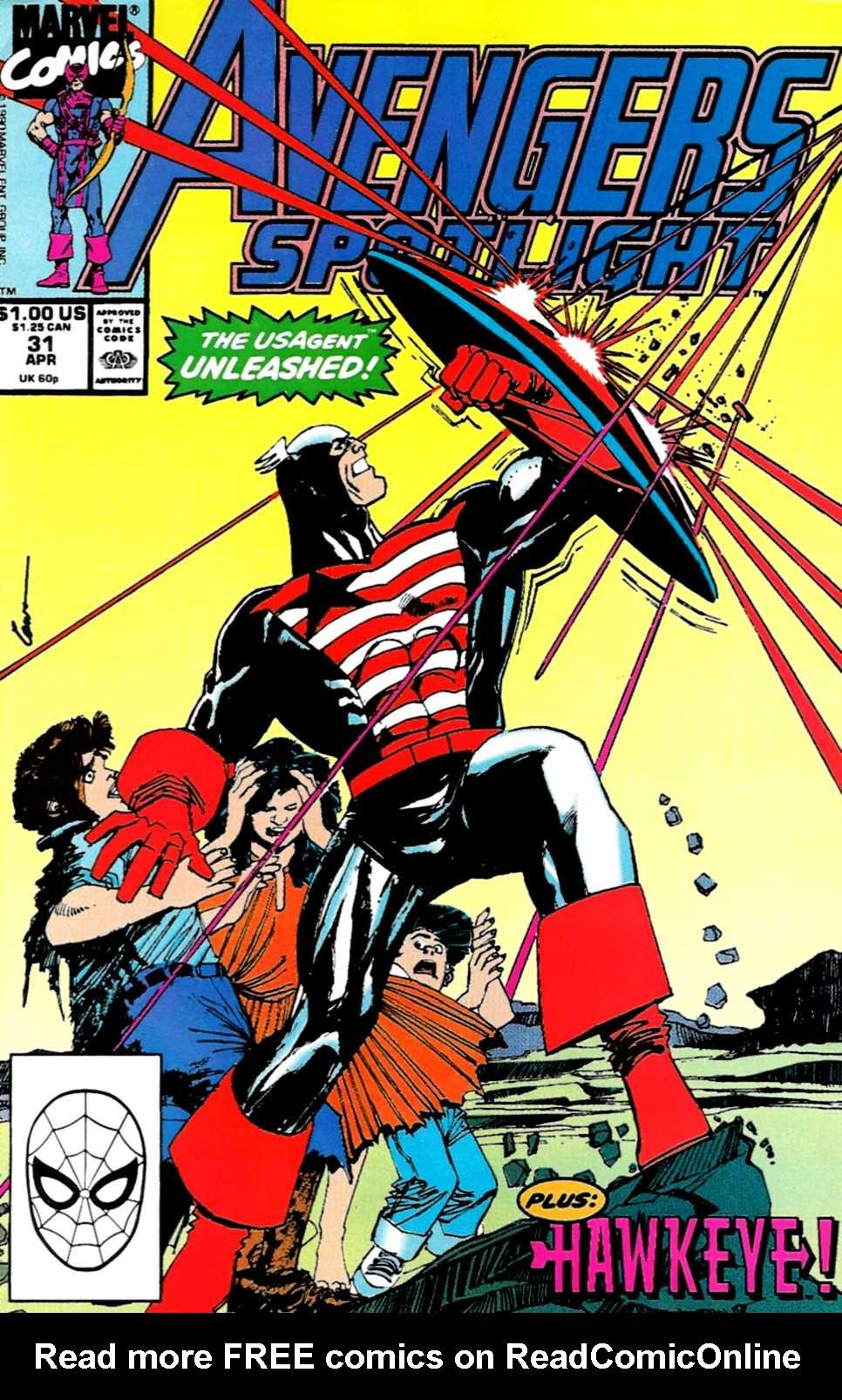 Avengers Spotlight 31 Page 1
