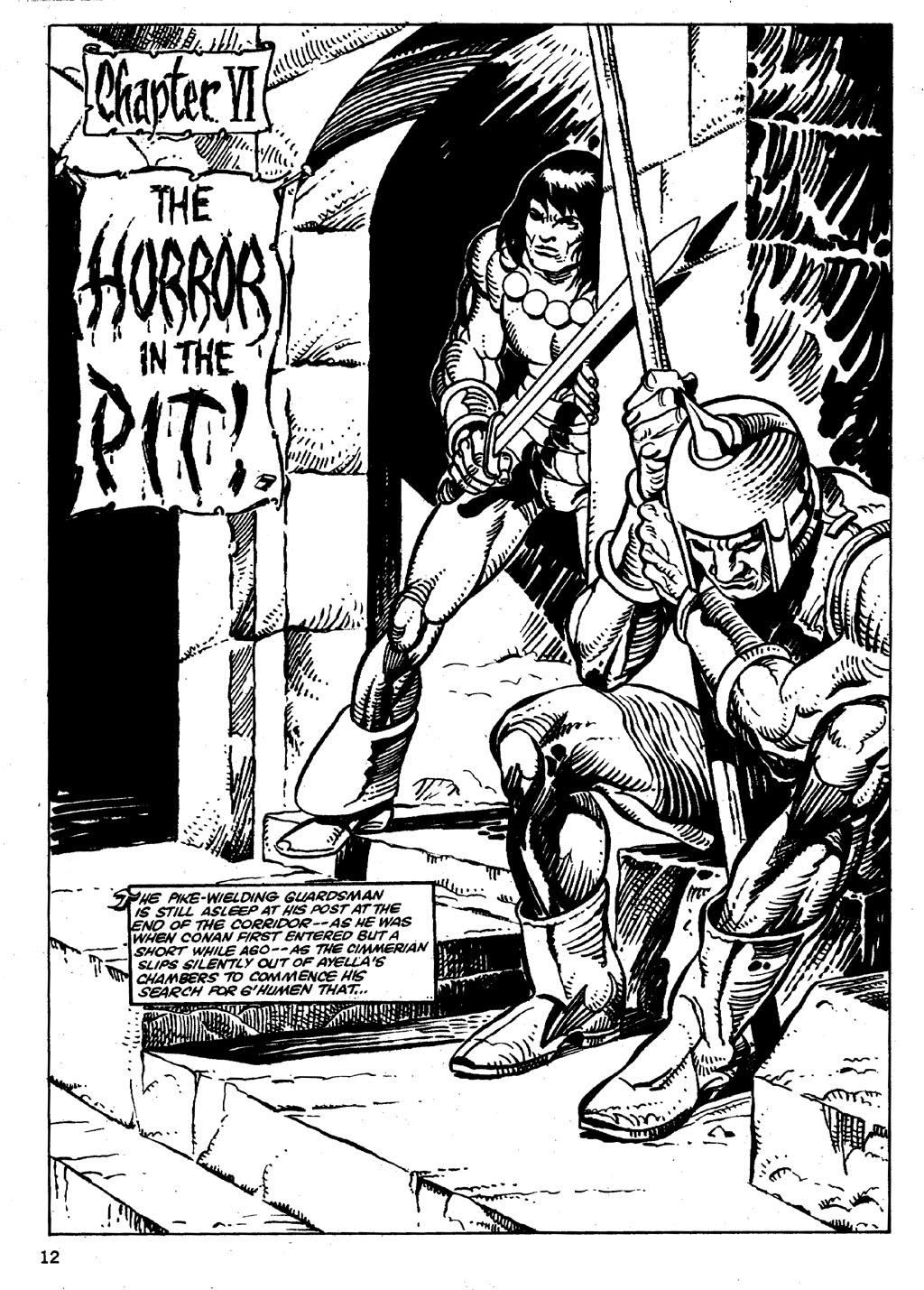 The Savage Sword Of Conan Issue #86 #87 - English 12