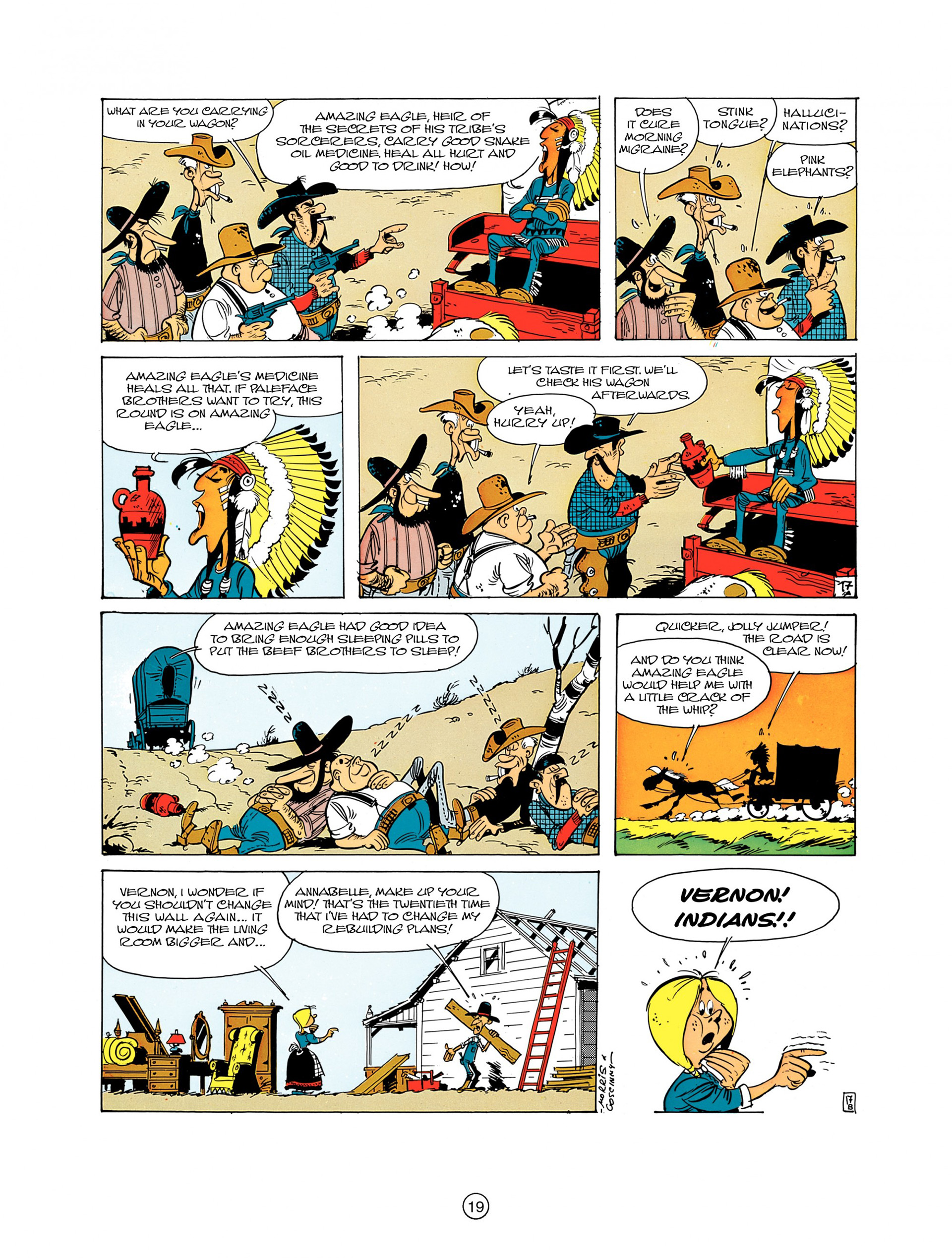 A Lucky Luke Adventure 7 Page 18
