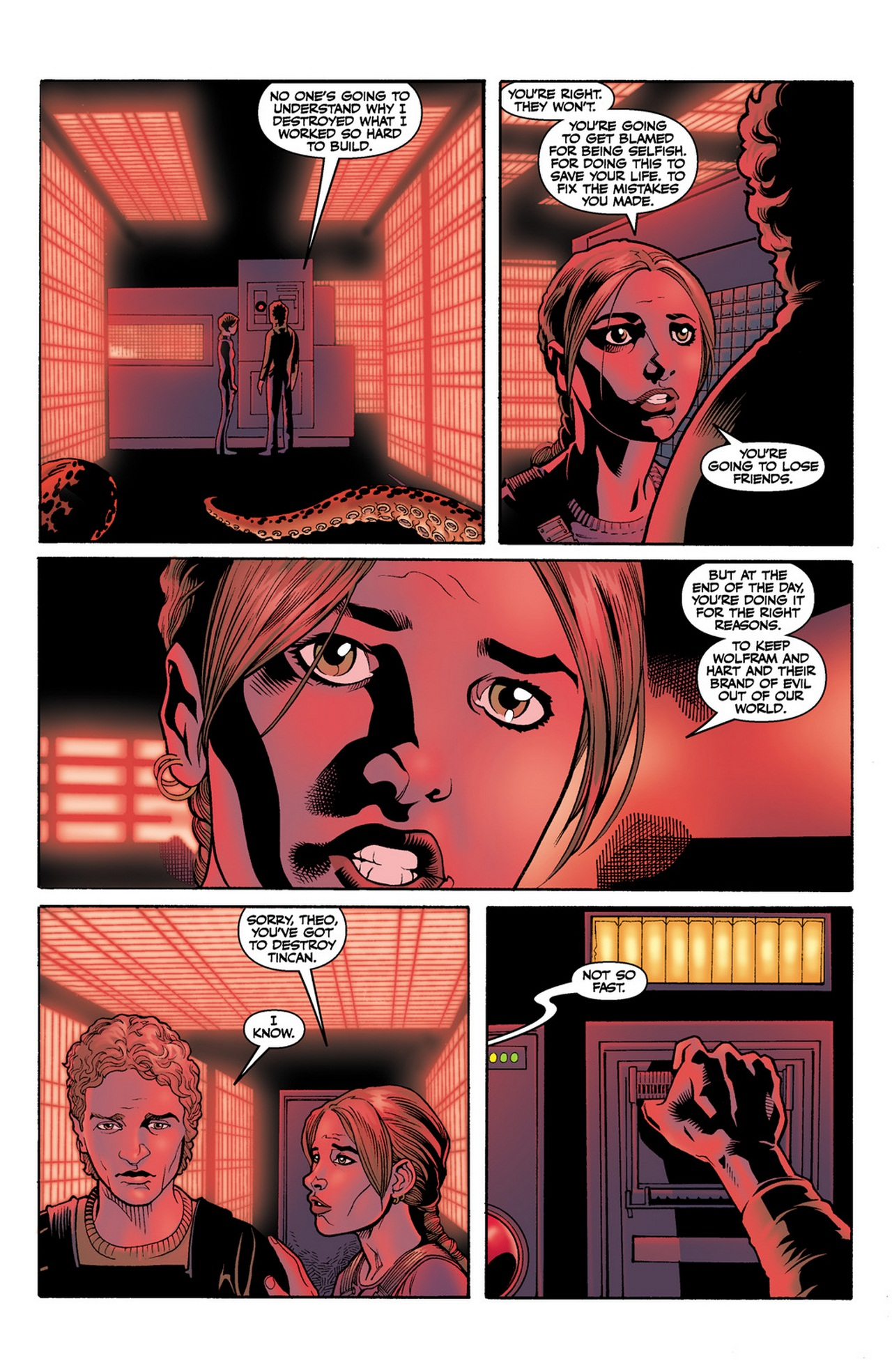 Read online Buffy the Vampire Slayer Season Nine comic -  Issue #12 - 23