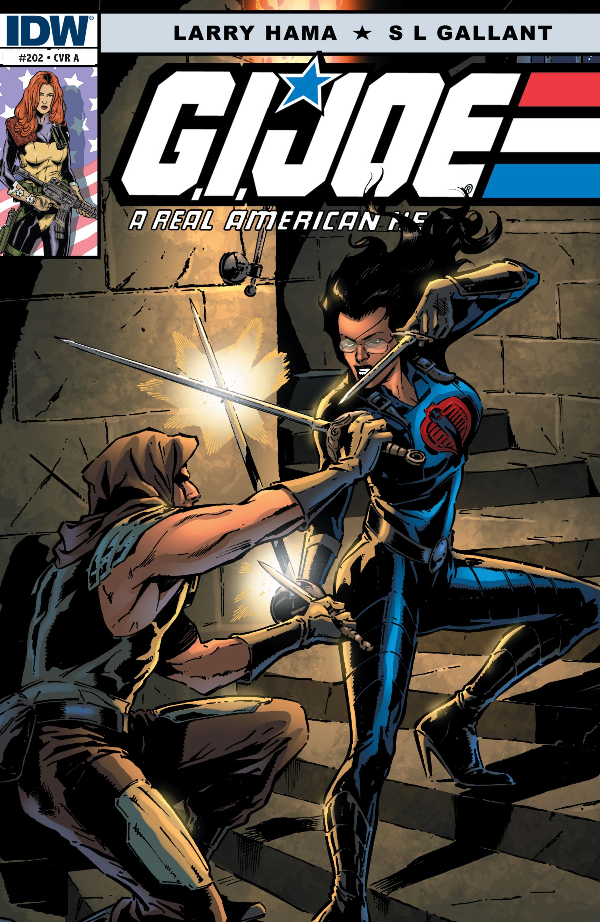 G.I. Joe: A Real American Hero 202 Page 1