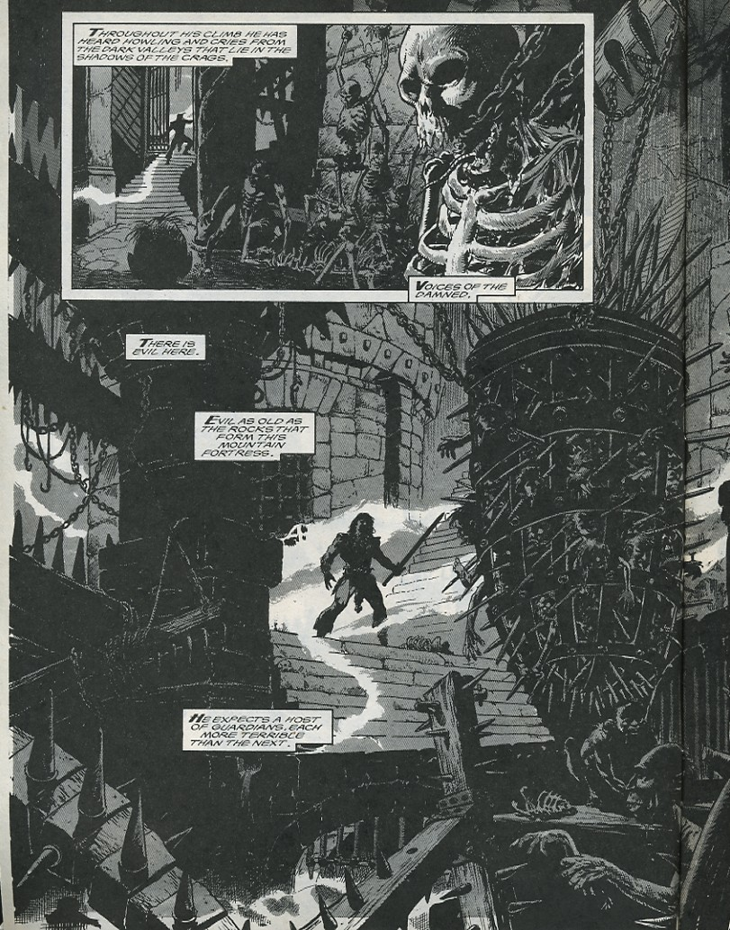 The Savage Sword Of Conan Issue #176 #177 - English 4