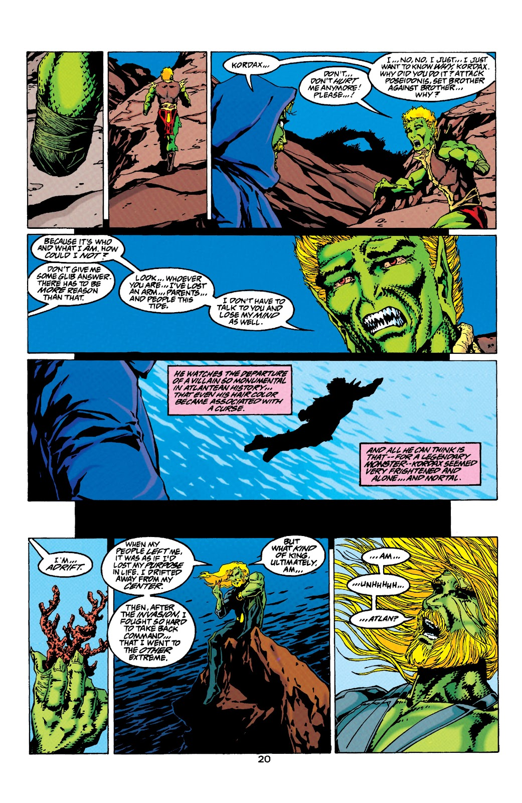 Aquaman (1994) Issue #33 #39 - English 18