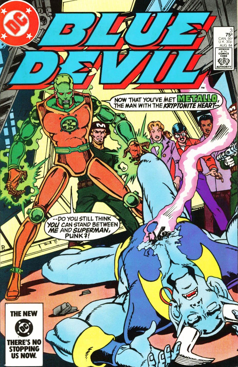 Blue Devil 3 Page 1