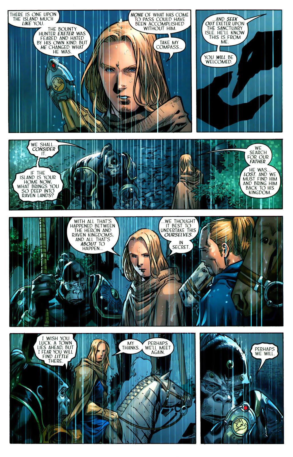 Read online Scion comic -  Issue #38 - 8