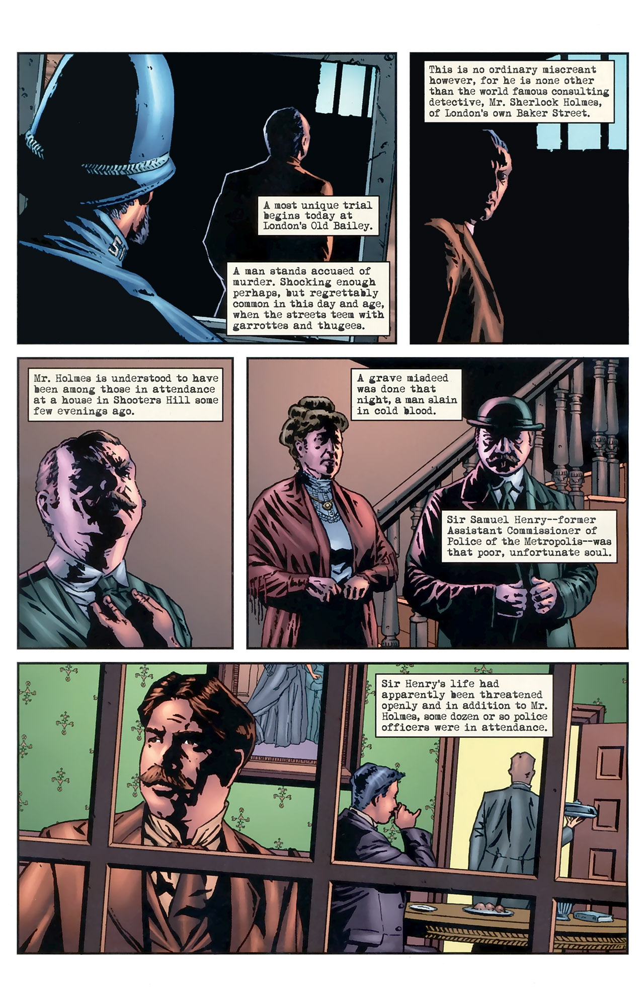 Read online Sherlock Holmes (2009) comic -  Issue #5 - 3