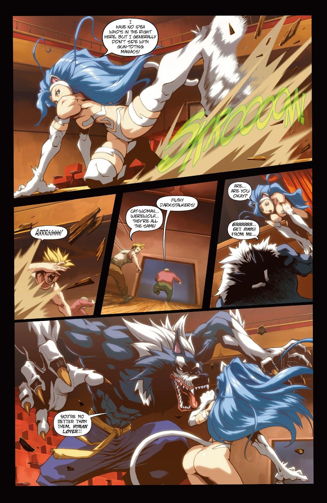 Darkstalkers Issue #3 #4 - English 13