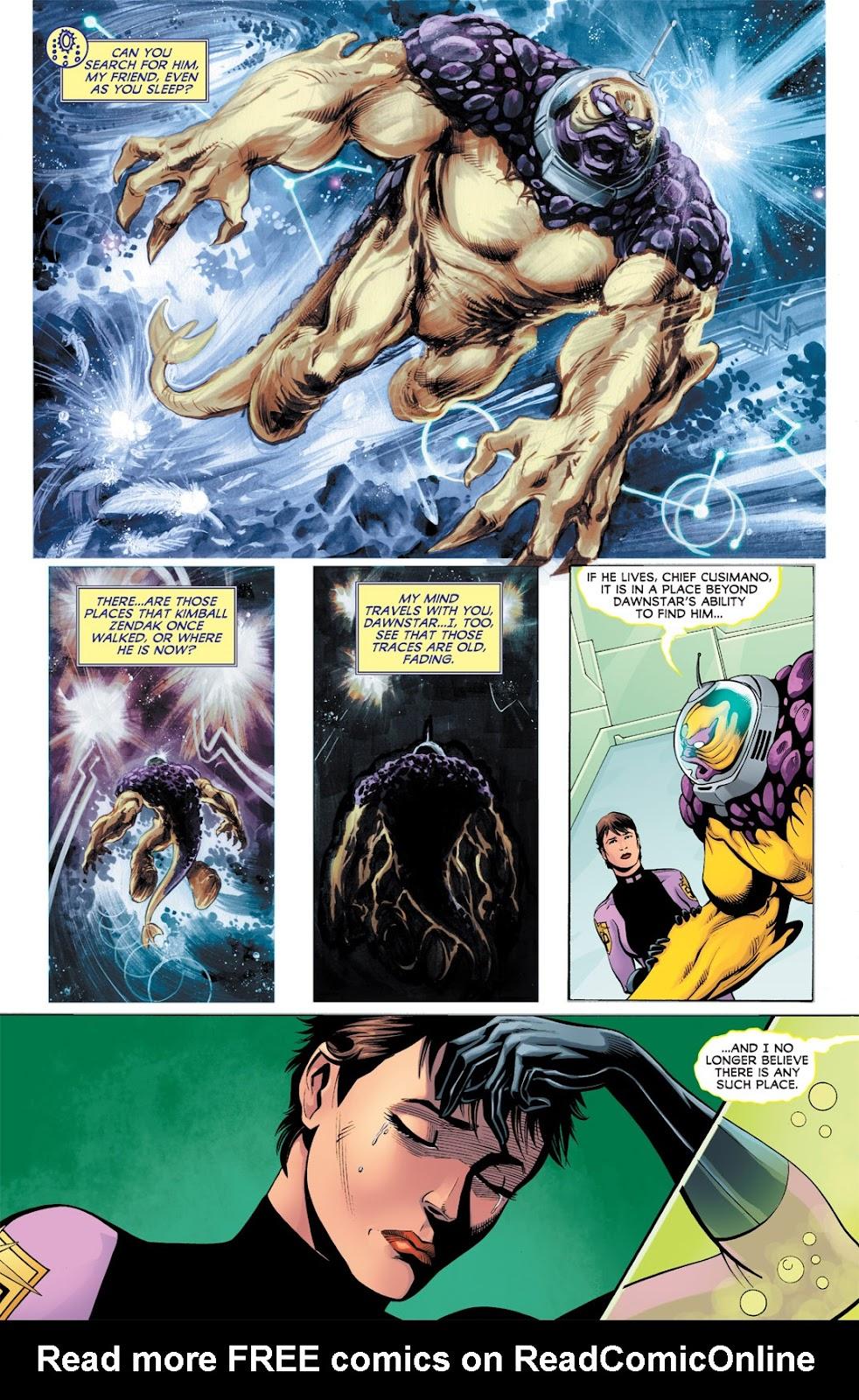 Legion of Super-Heroes (2010) Issue #9 #10 - English 15