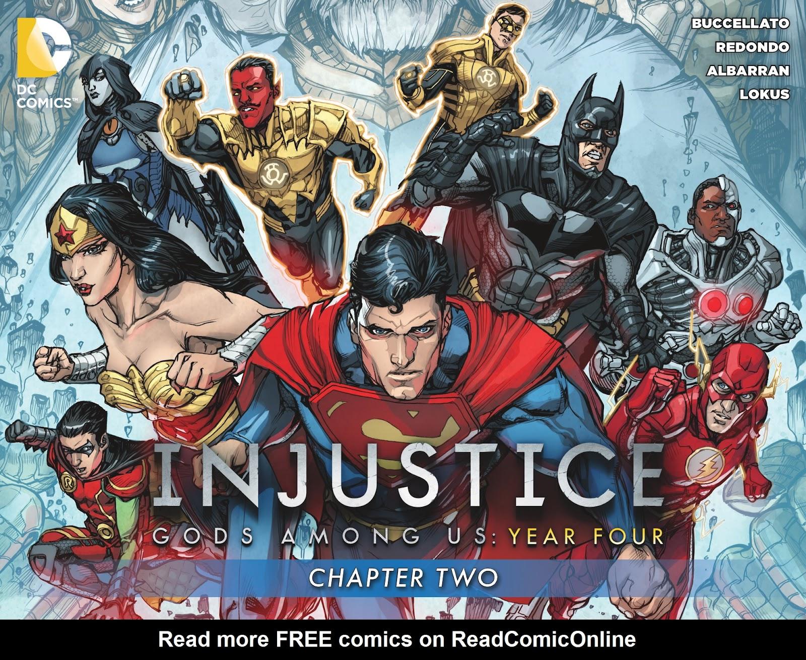 Injustice: Gods Among Us Year Four Issue #2 #3 - English 1