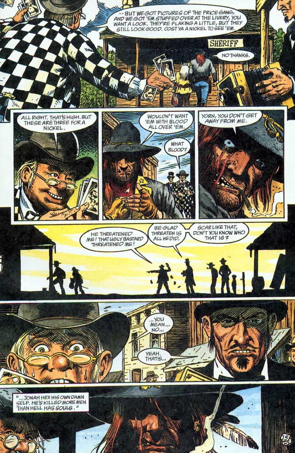 Jonah Hex: Two-Gun Mojo Issue #1 #1 - English 17