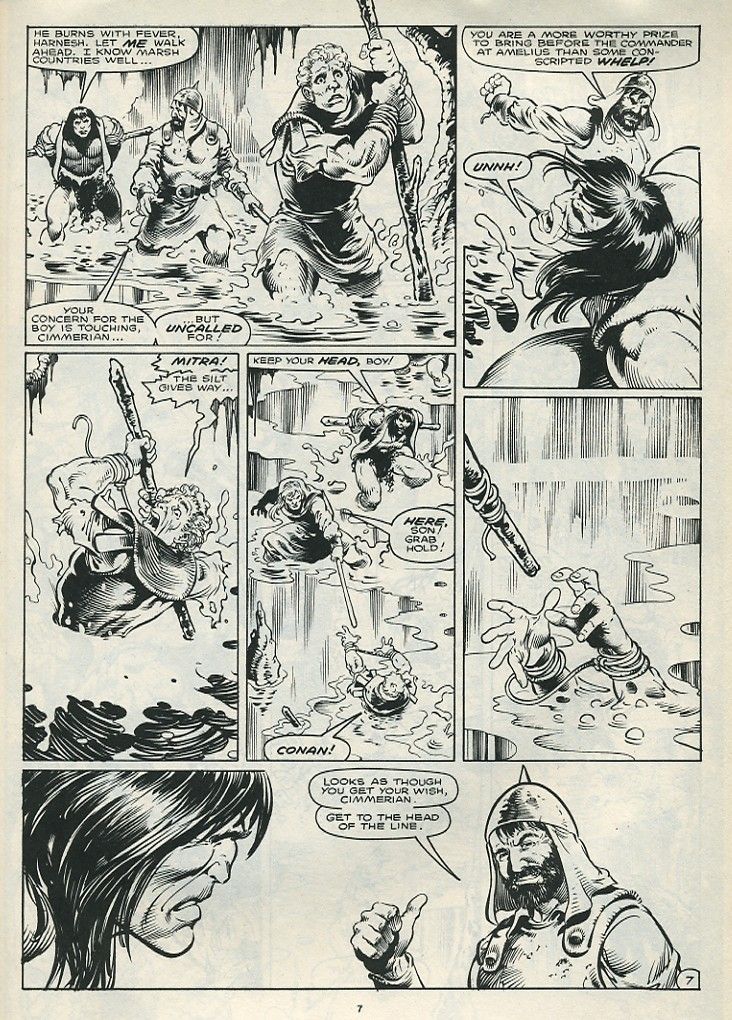 The Savage Sword Of Conan Issue #172 #173 - English 9