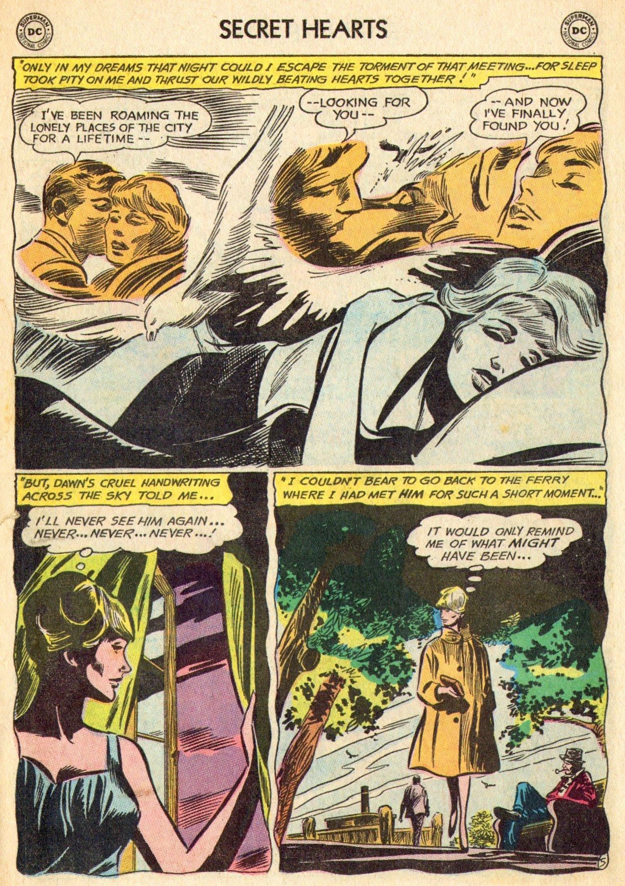 Read online Secret Hearts comic -  Issue #101 - 23