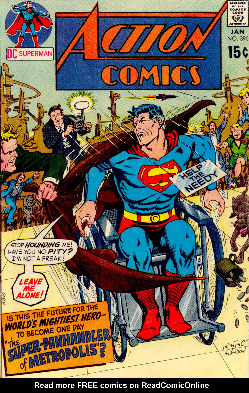 Action Comics (1938) 396 Page 1
