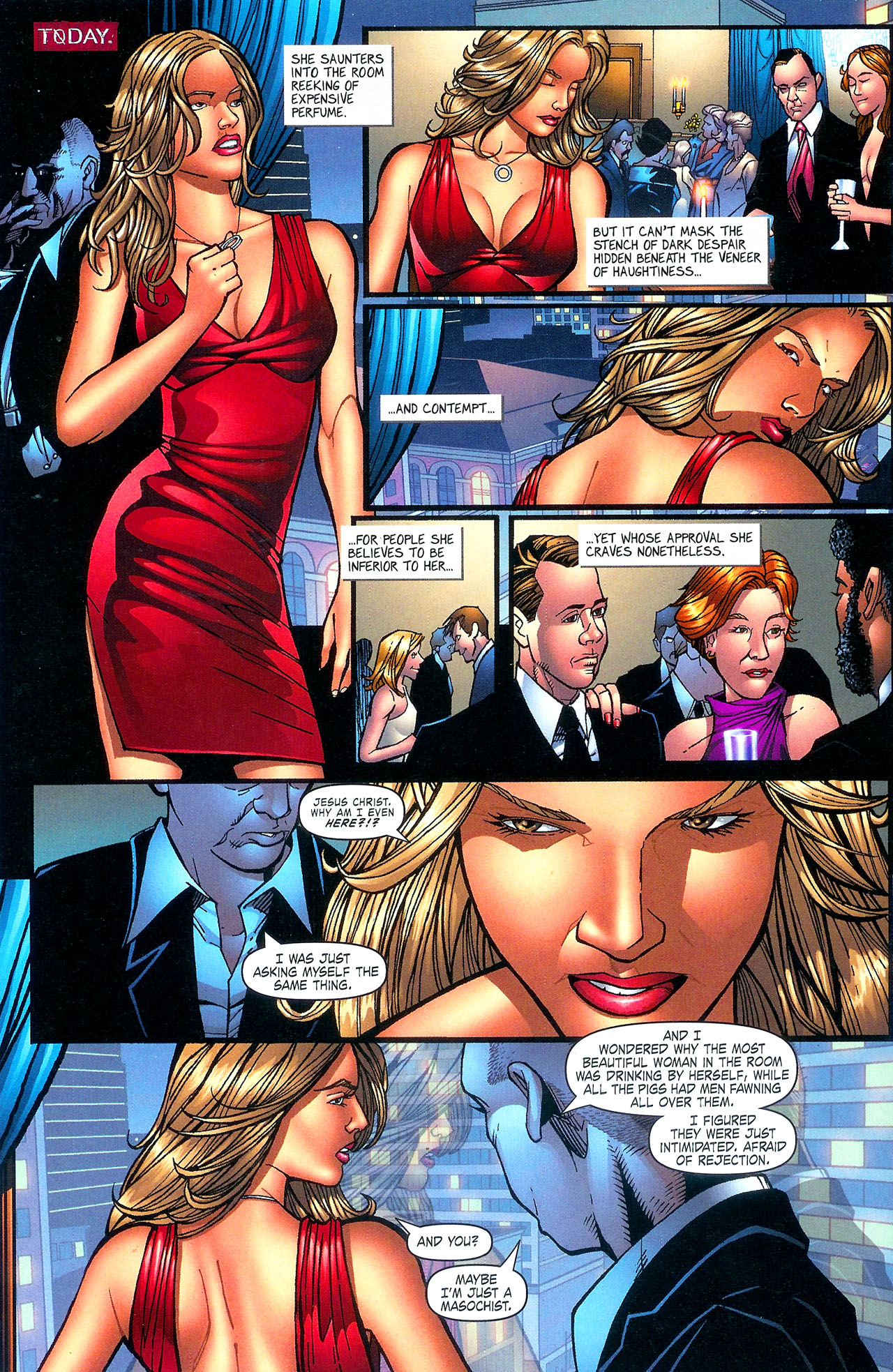 Read online Se7en comic -  Issue #5 - 16