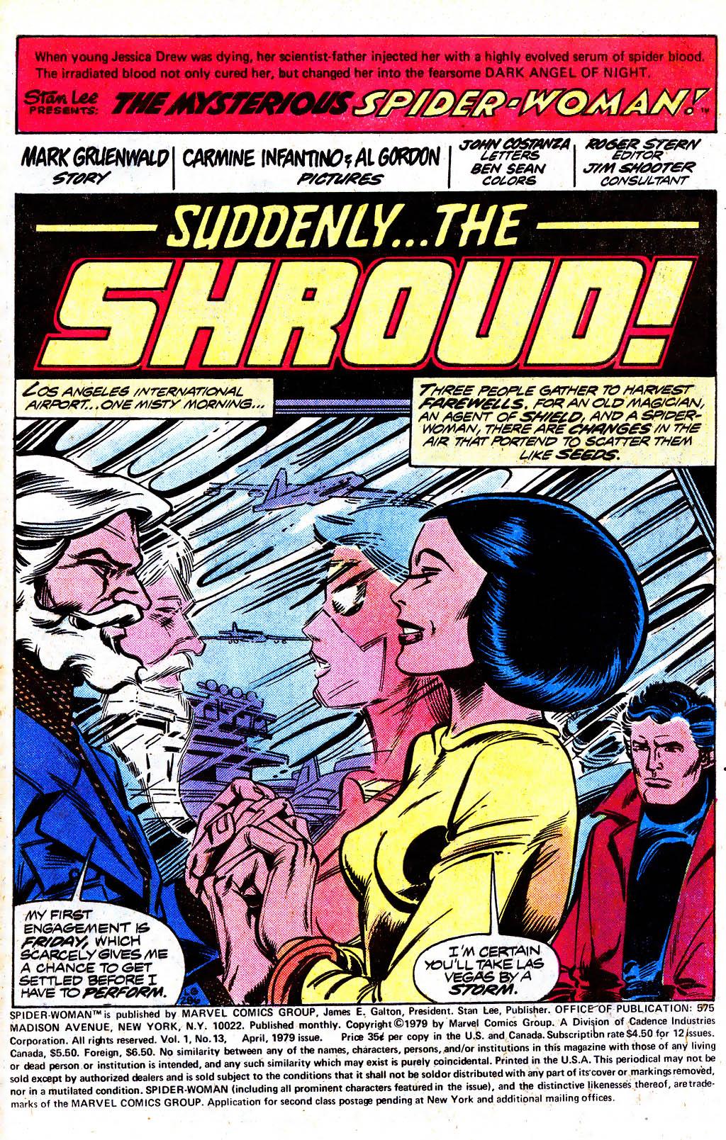 Spider-Woman (1978) #13 #38 - English 2