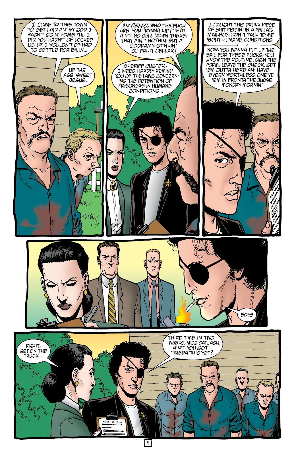 Preacher Issue #45 #54 - English 3