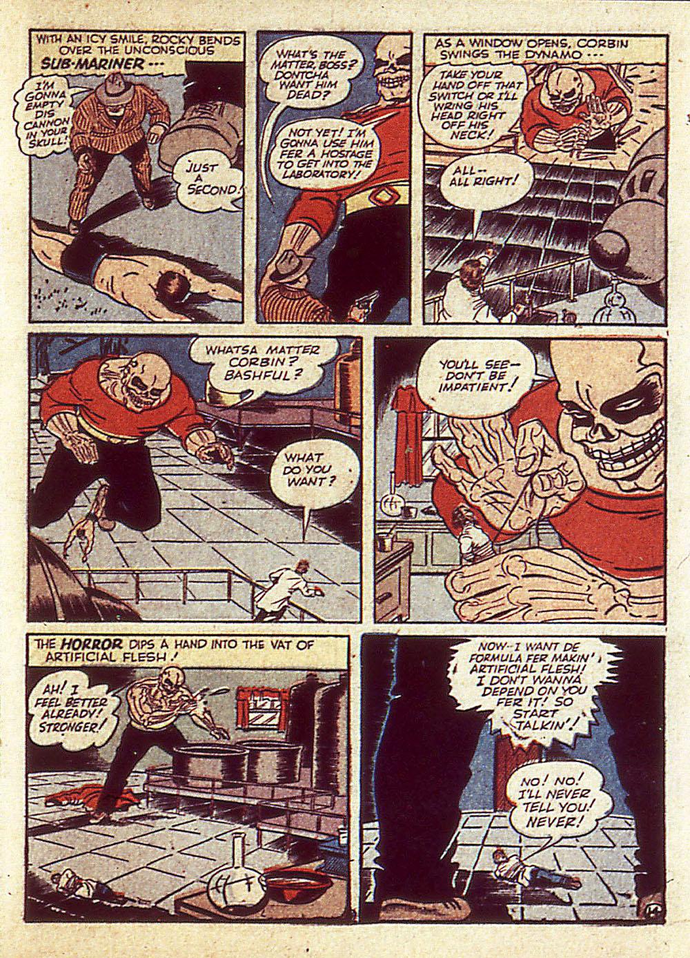 Sub-Mariner Comics Issue #4 #4 - English 38