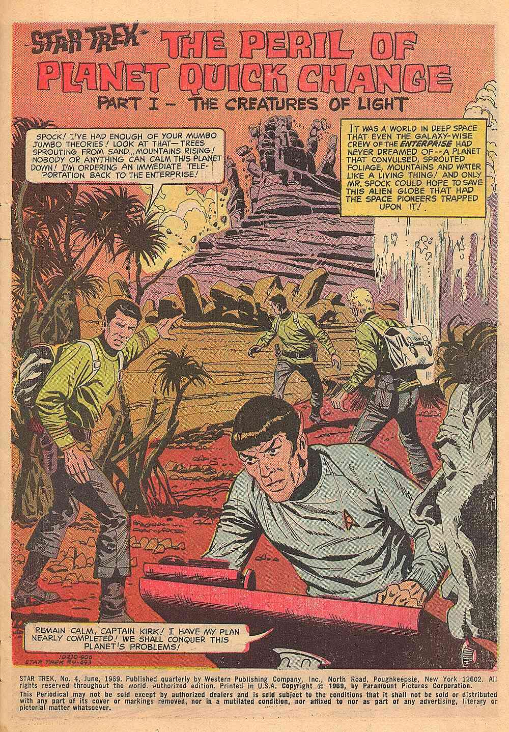 Star Trek (1967) Issue #4 #4 - English 2