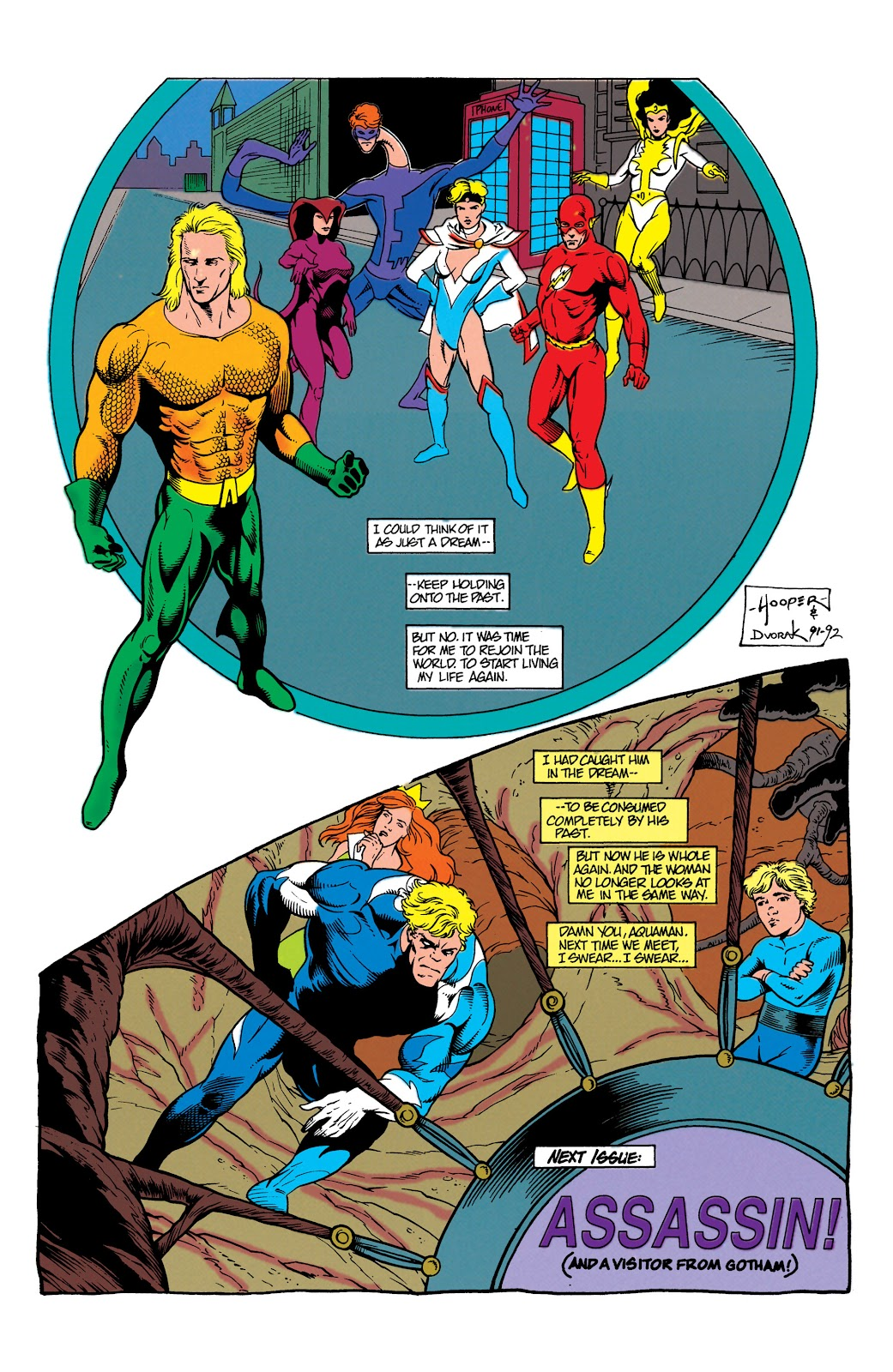 Aquaman (1991) Issue #7 #7 - English 23