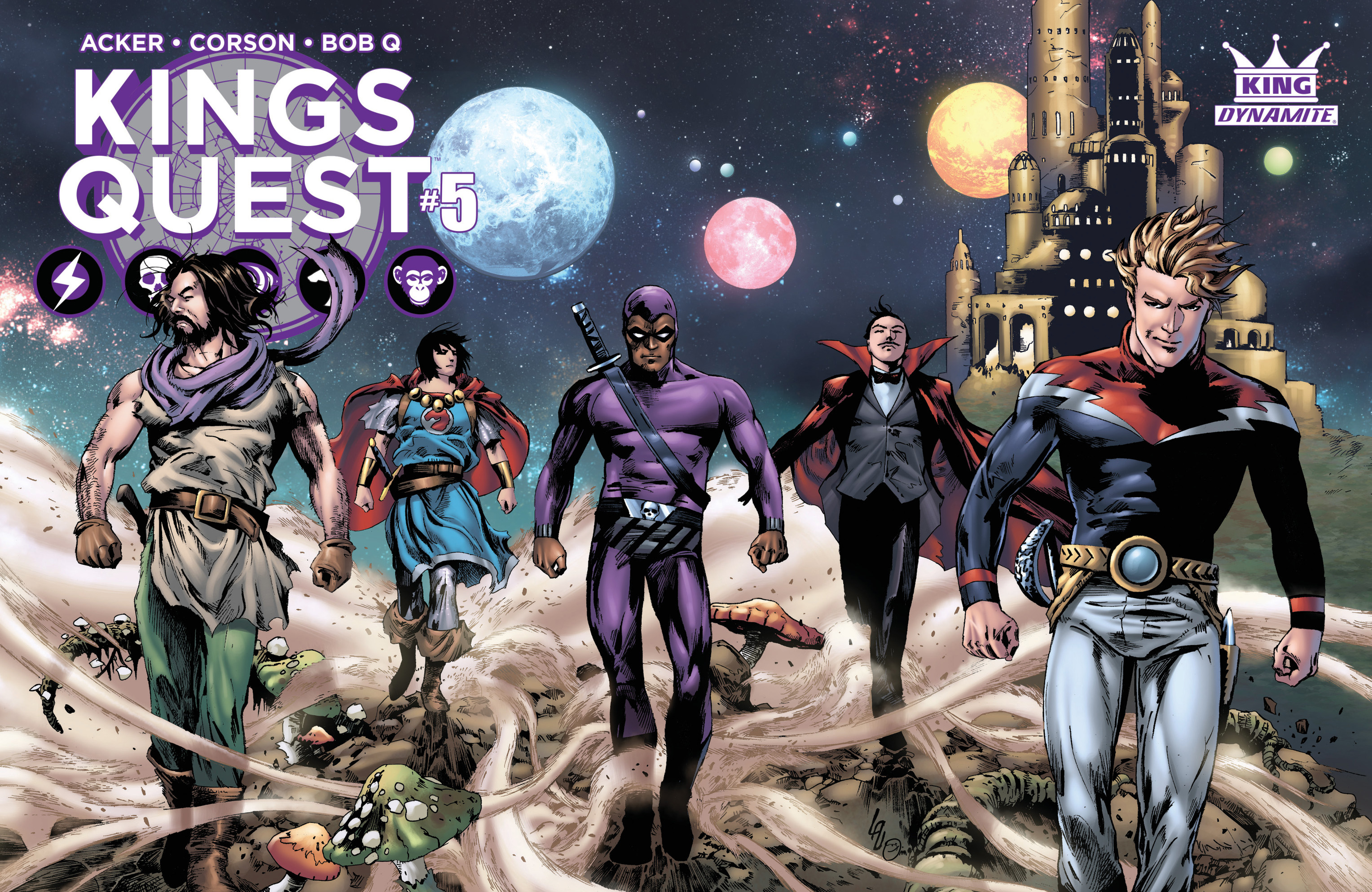 Read online Kings Quest comic -  Issue #5 - 3