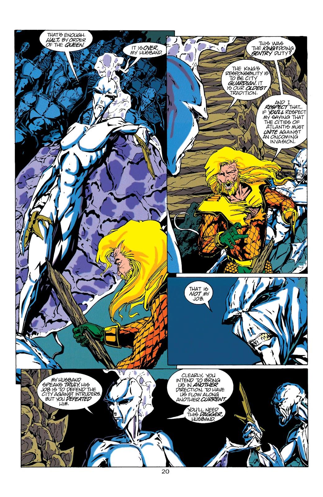 Aquaman (1994) Issue #17 #23 - English 20