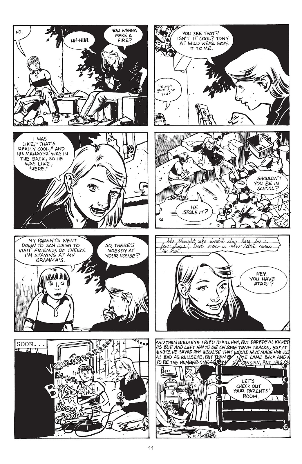 Stray Bullets Issue #15 #15 - English 13