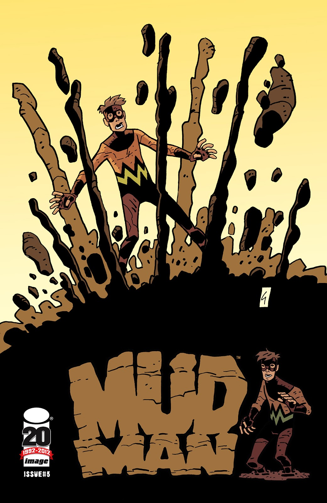 Mudman Issue #5 #5 - English 1