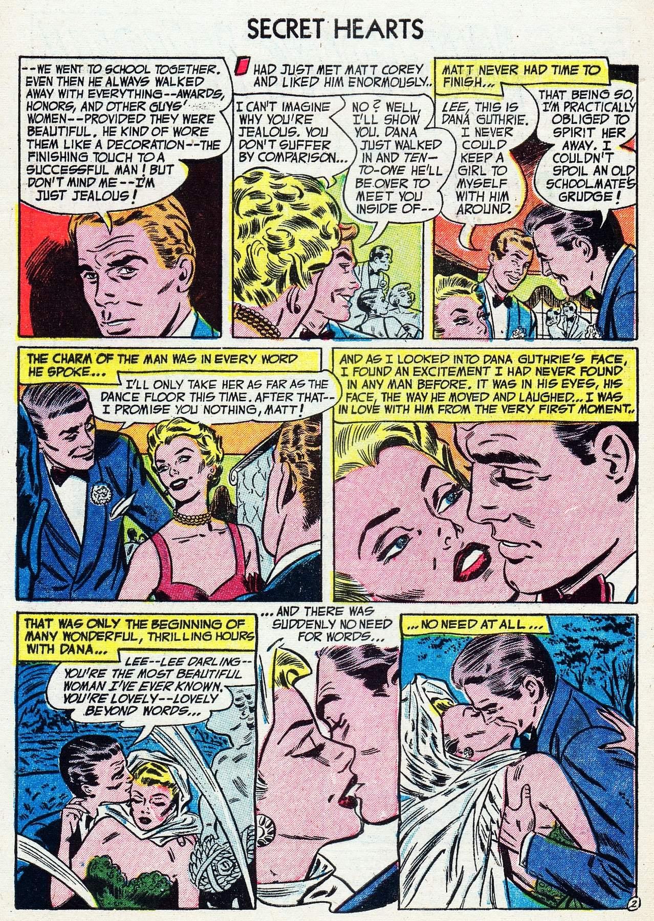 Read online Secret Hearts comic -  Issue #16 - 4