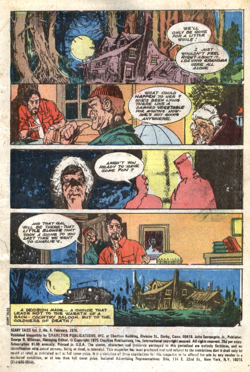Read online Scary Tales comic -  Issue #4 - 3