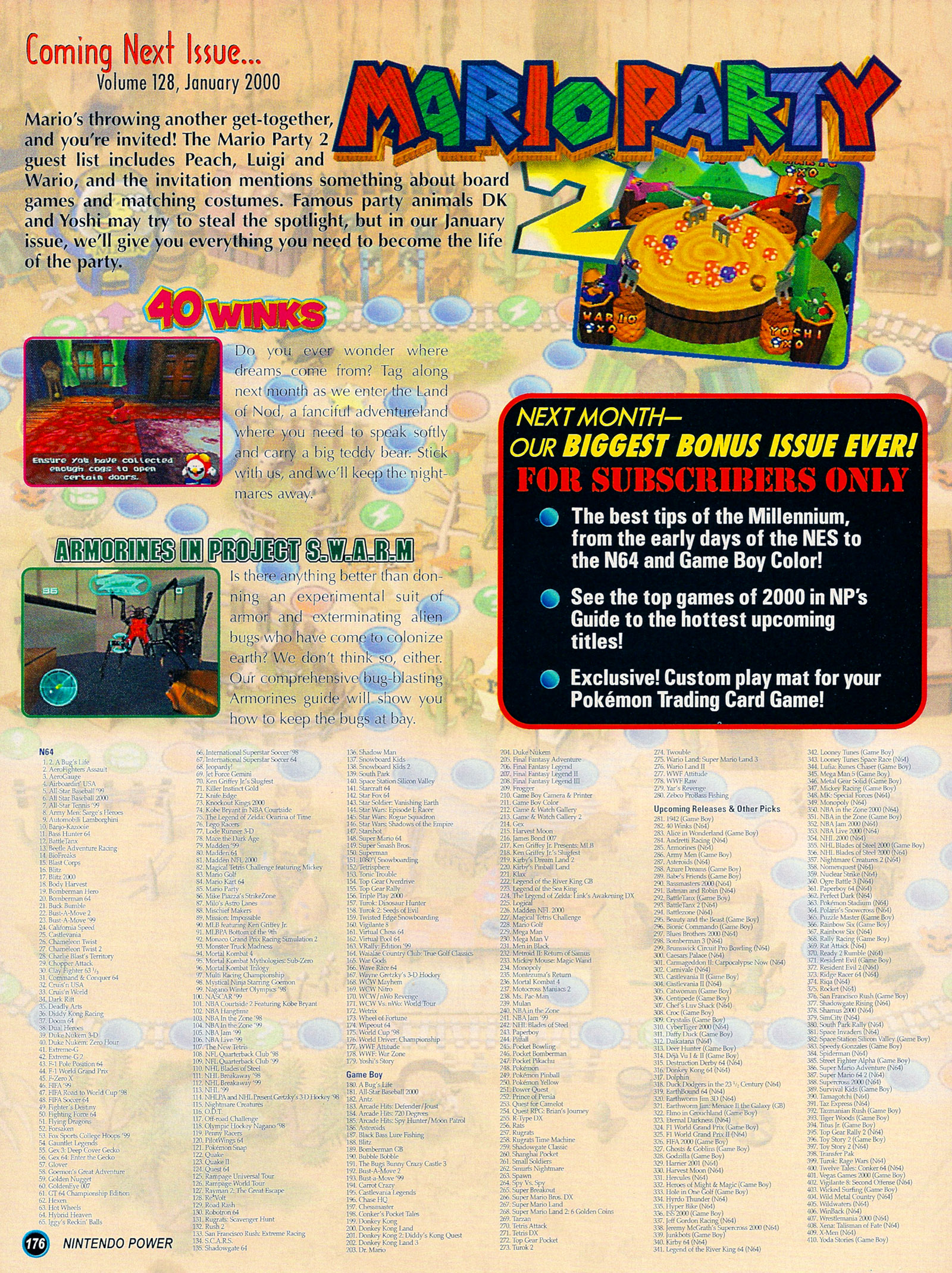 Nintendo Power #127 #127 - English 201