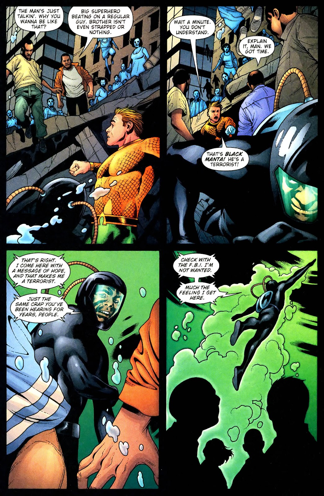 Aquaman (2003) Issue #33 #33 - English 12