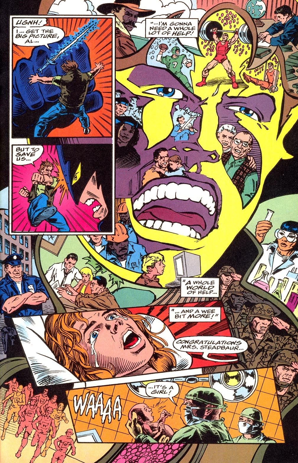 Read online Secret Defenders comic -  Issue #25 - 25
