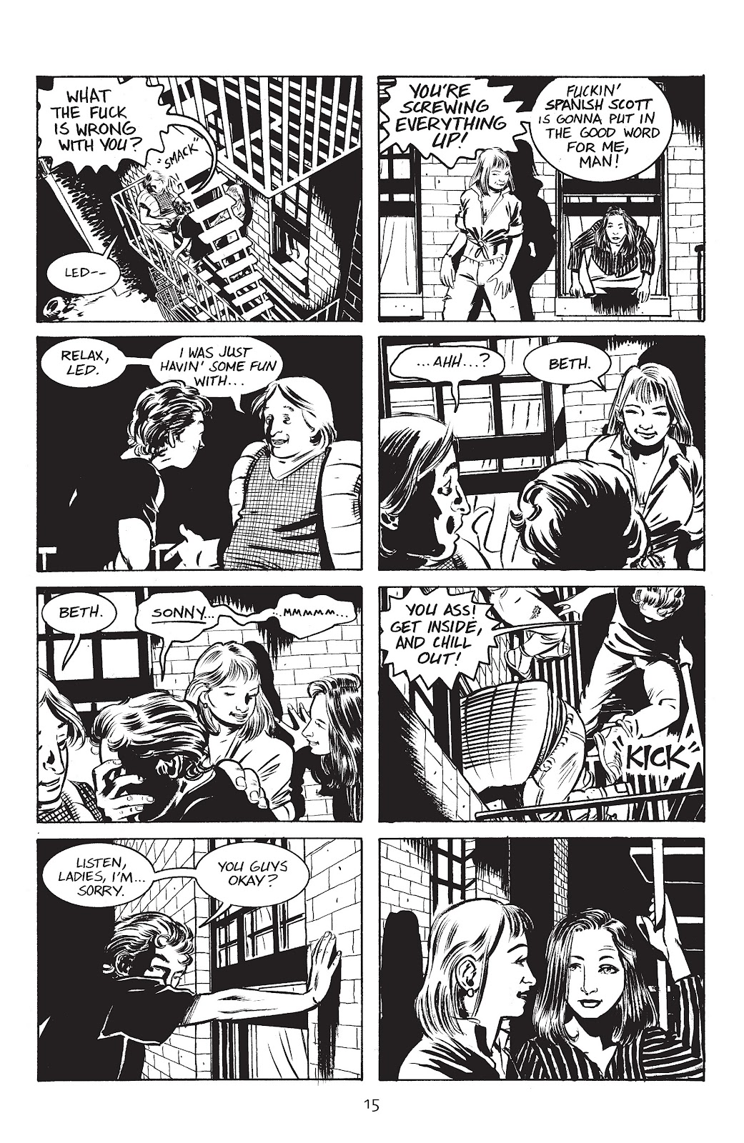 Stray Bullets Issue #3 #3 - English 17