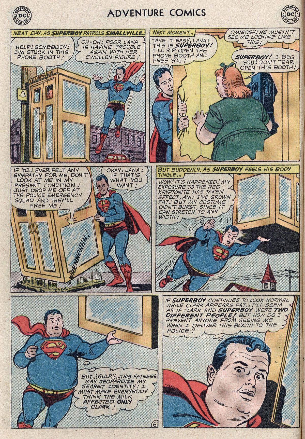 Read online Adventure Comics (1938) comic -  Issue #298 - 8