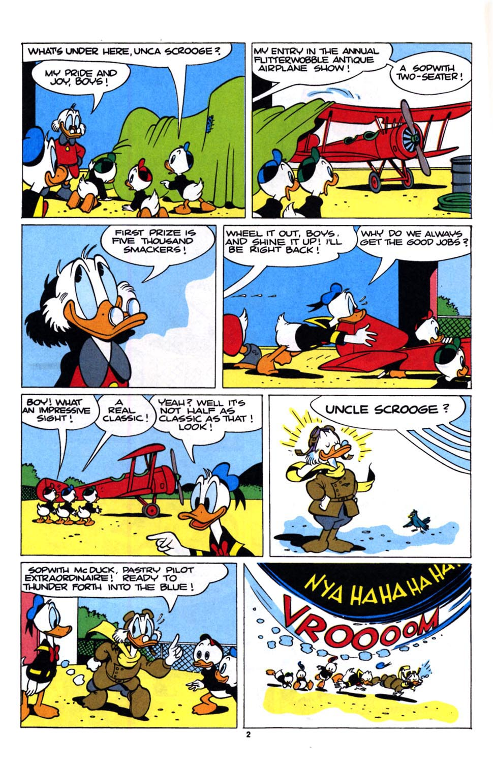 Uncle Scrooge (1953) Issue #243 #243 - English 4