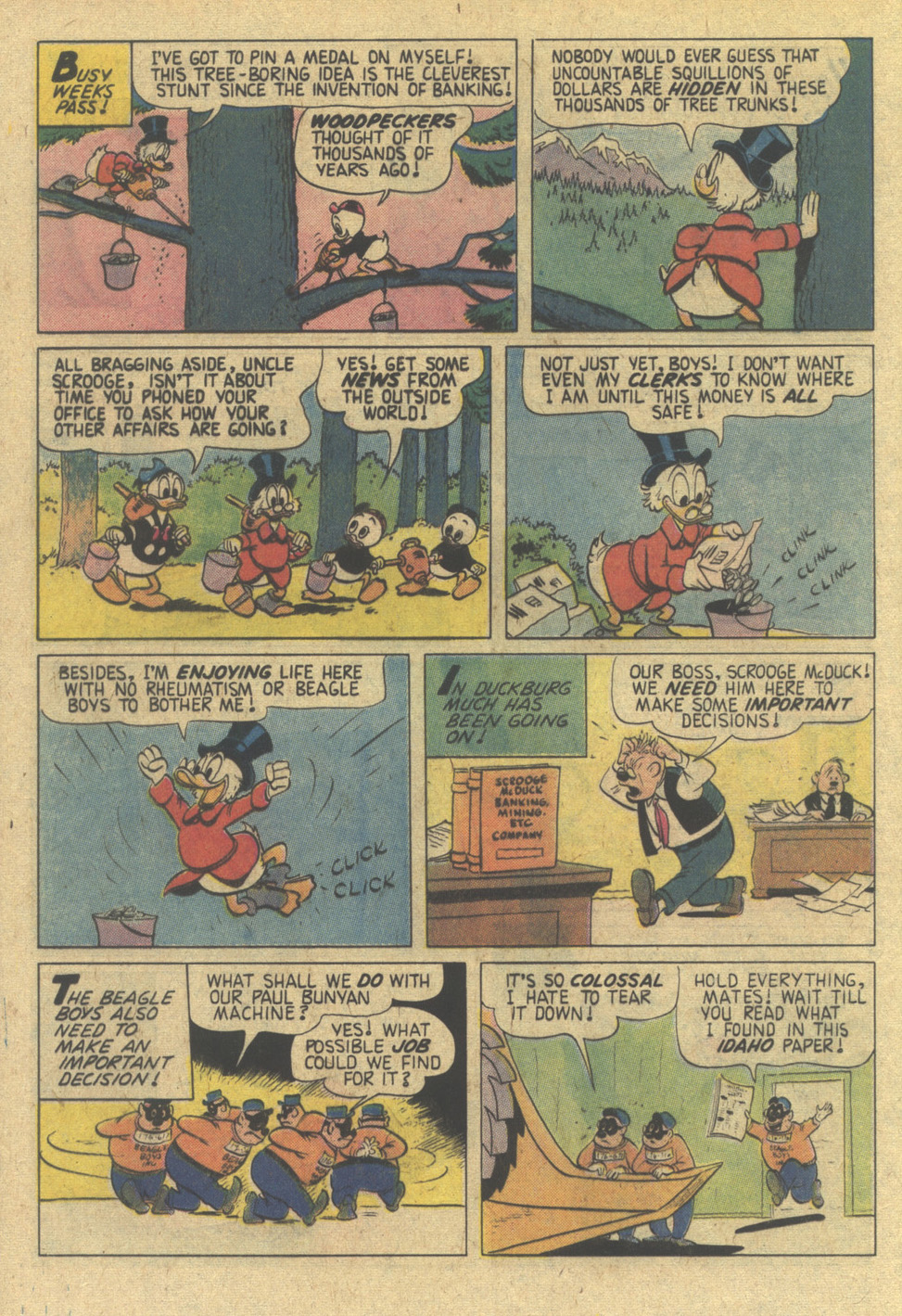 Uncle Scrooge (1953) Issue #144 #144 - English 16