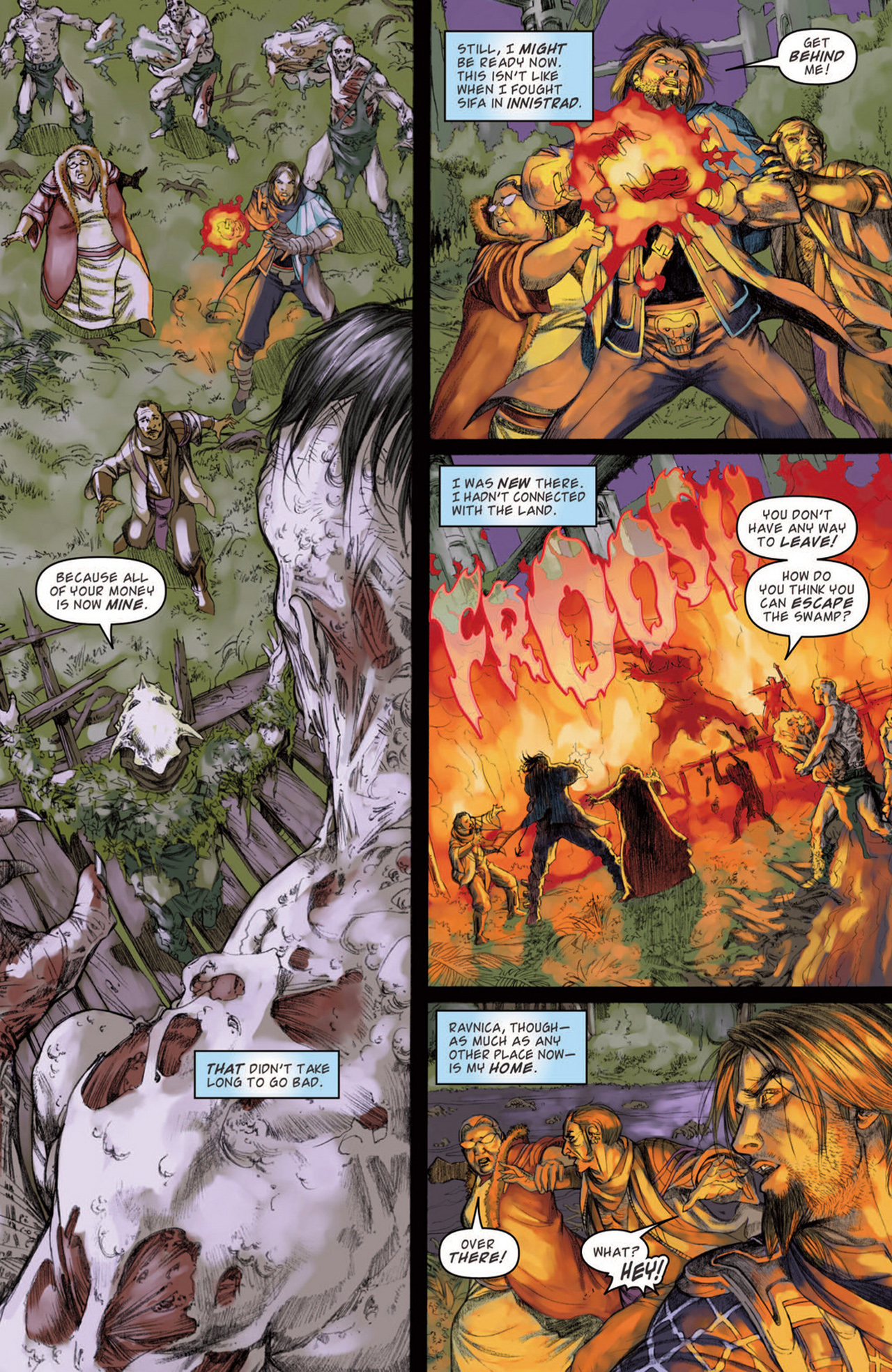 Read online Magic: The Gathering--Path of Vengeance comic -  Issue #3 - 15