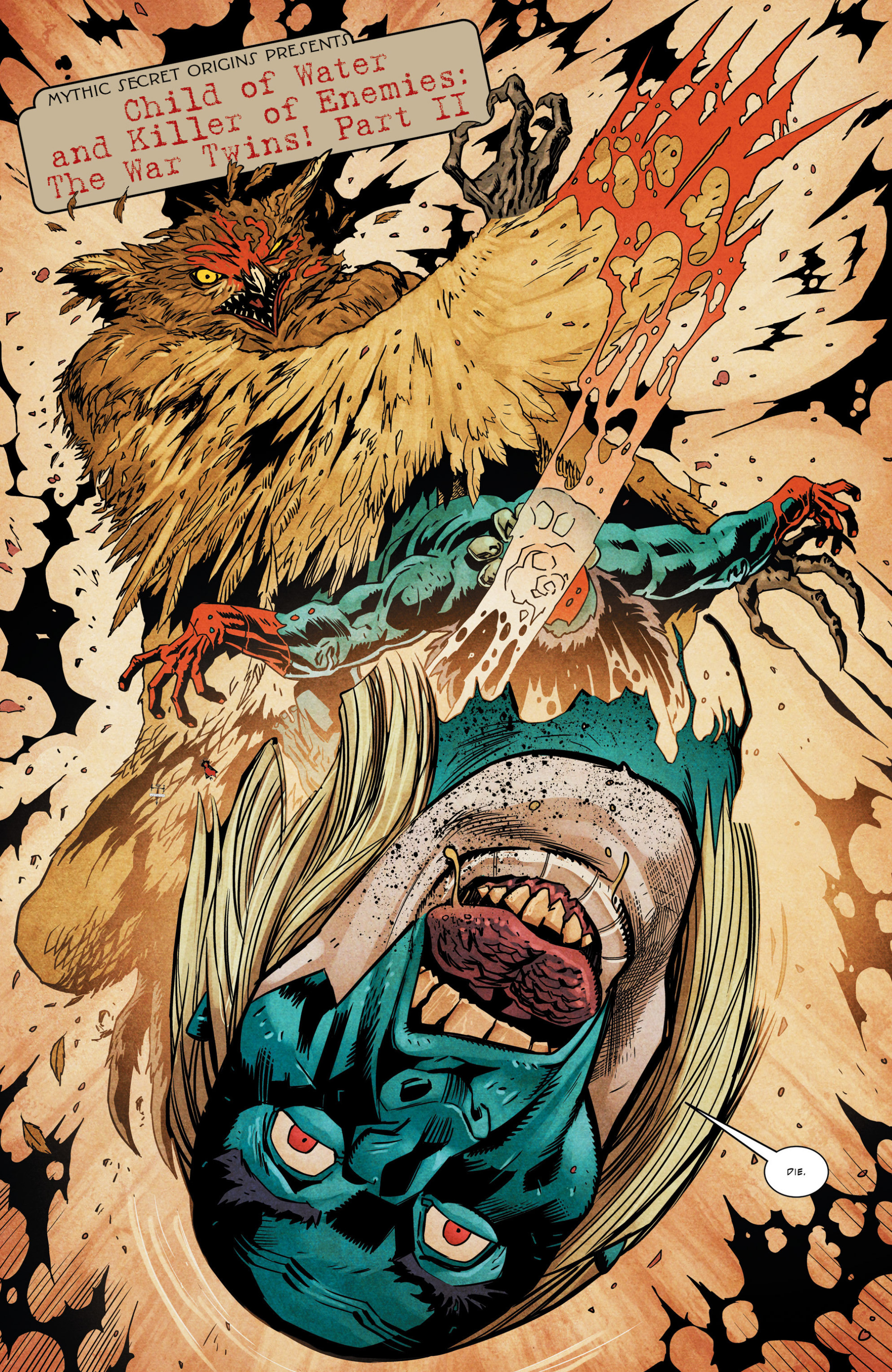 Read online Mythic comic -  Issue #6 - 16