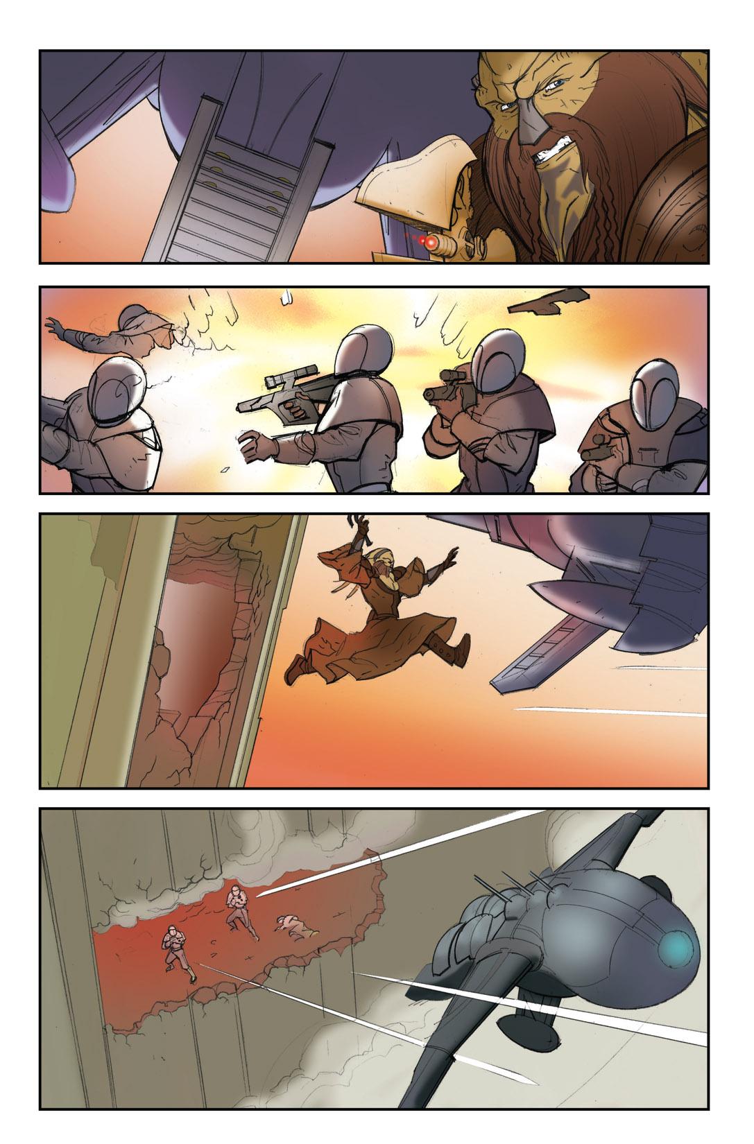Read online Farscape: D'Argo's Quest comic -  Issue #4 - 23