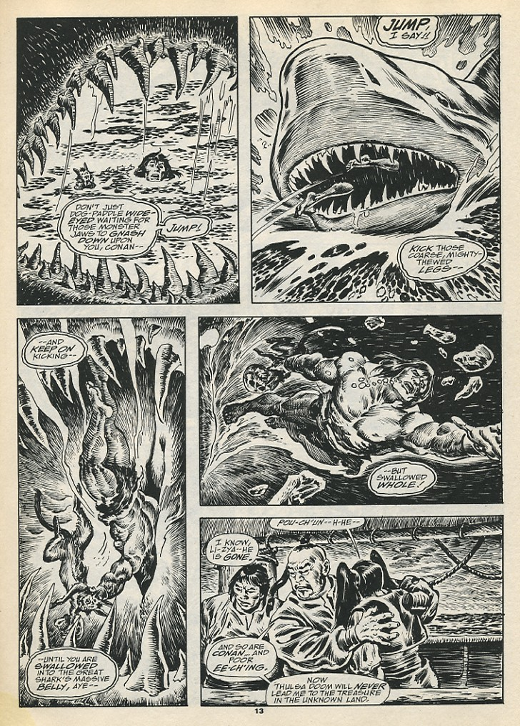 The Savage Sword Of Conan Issue #192 #193 - English 15