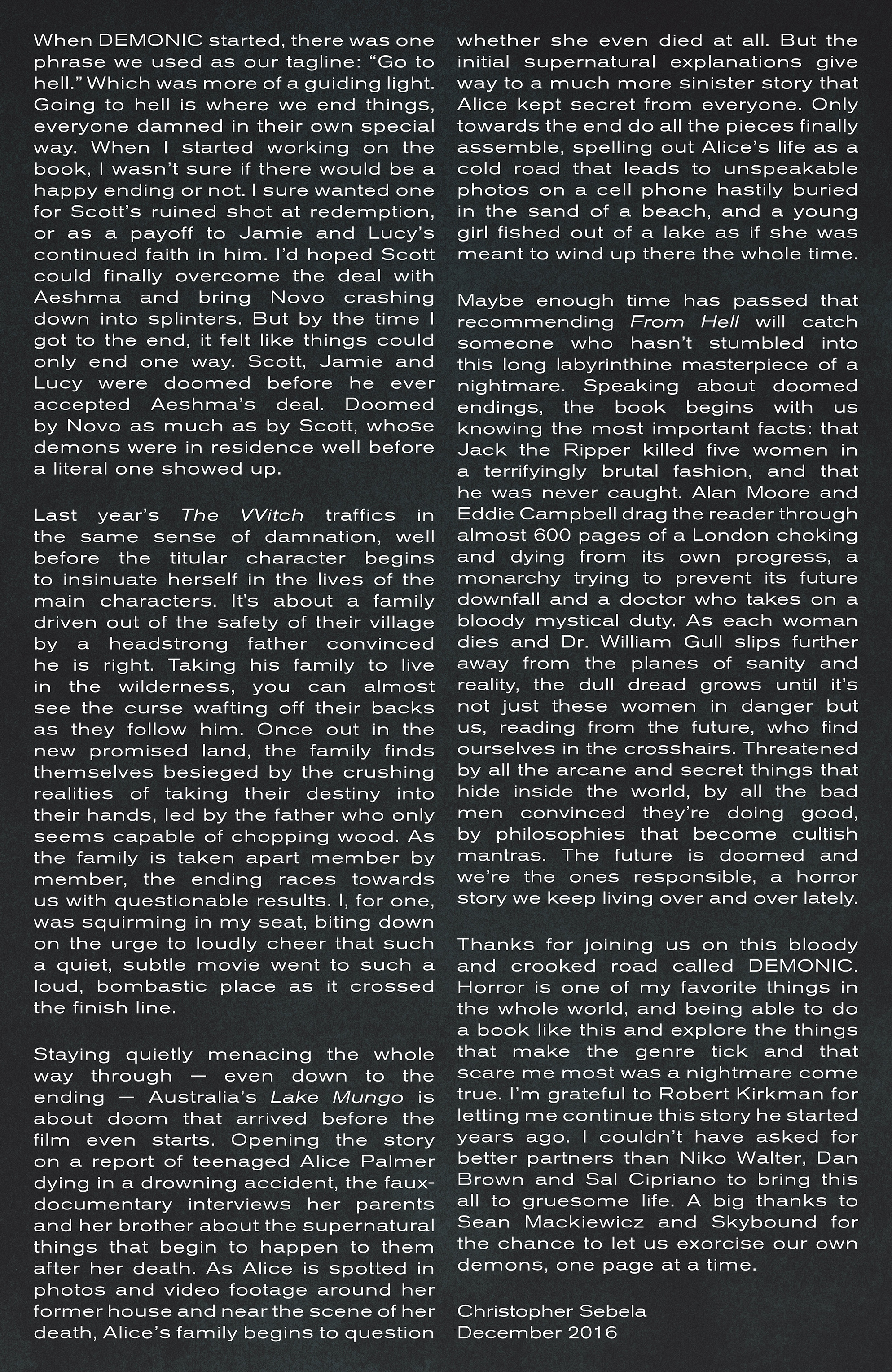 Read online Demonic comic -  Issue #6 - 25