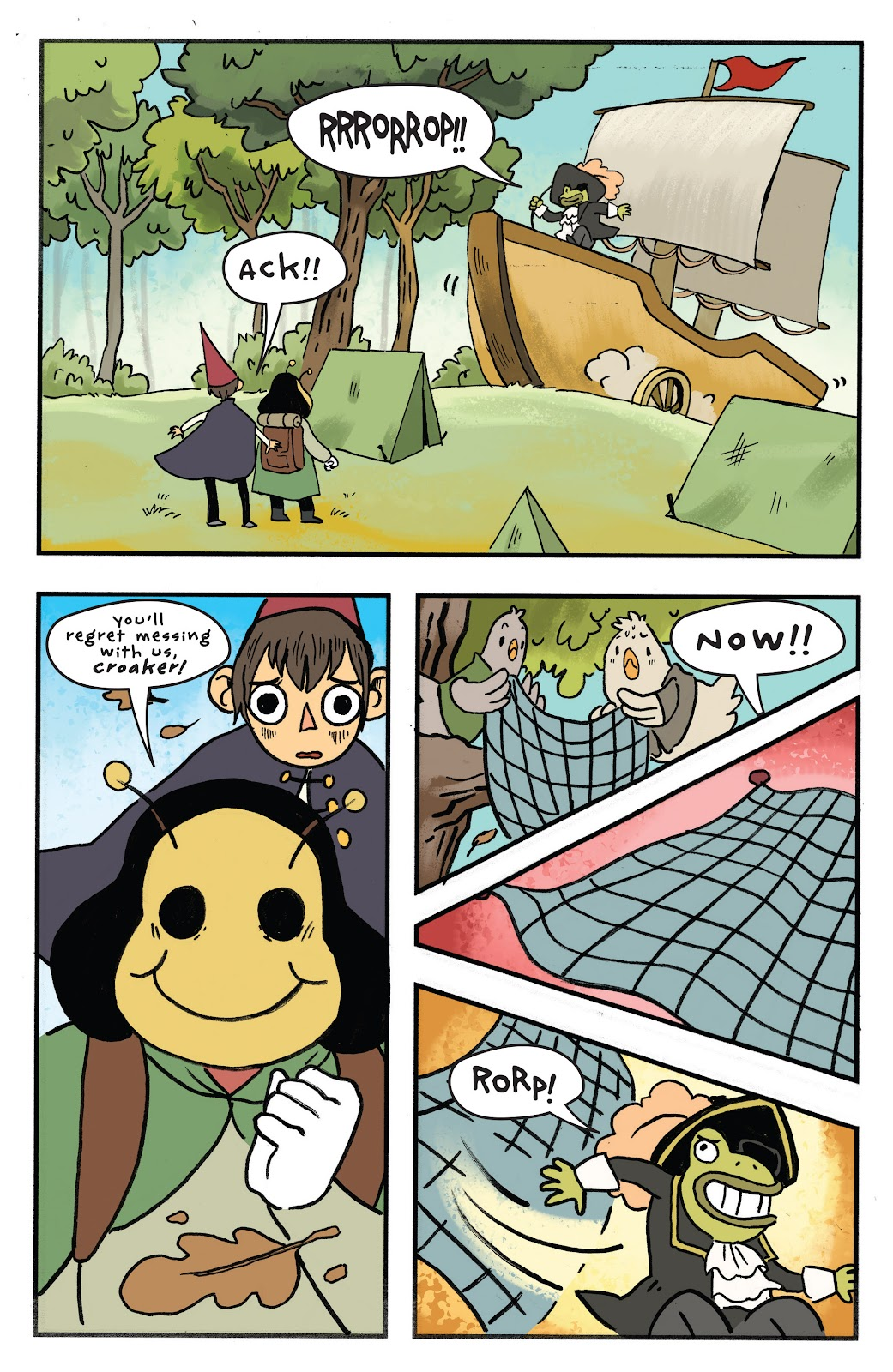 Over the Garden Wall (2016) Issue #11 #11 - English 18
