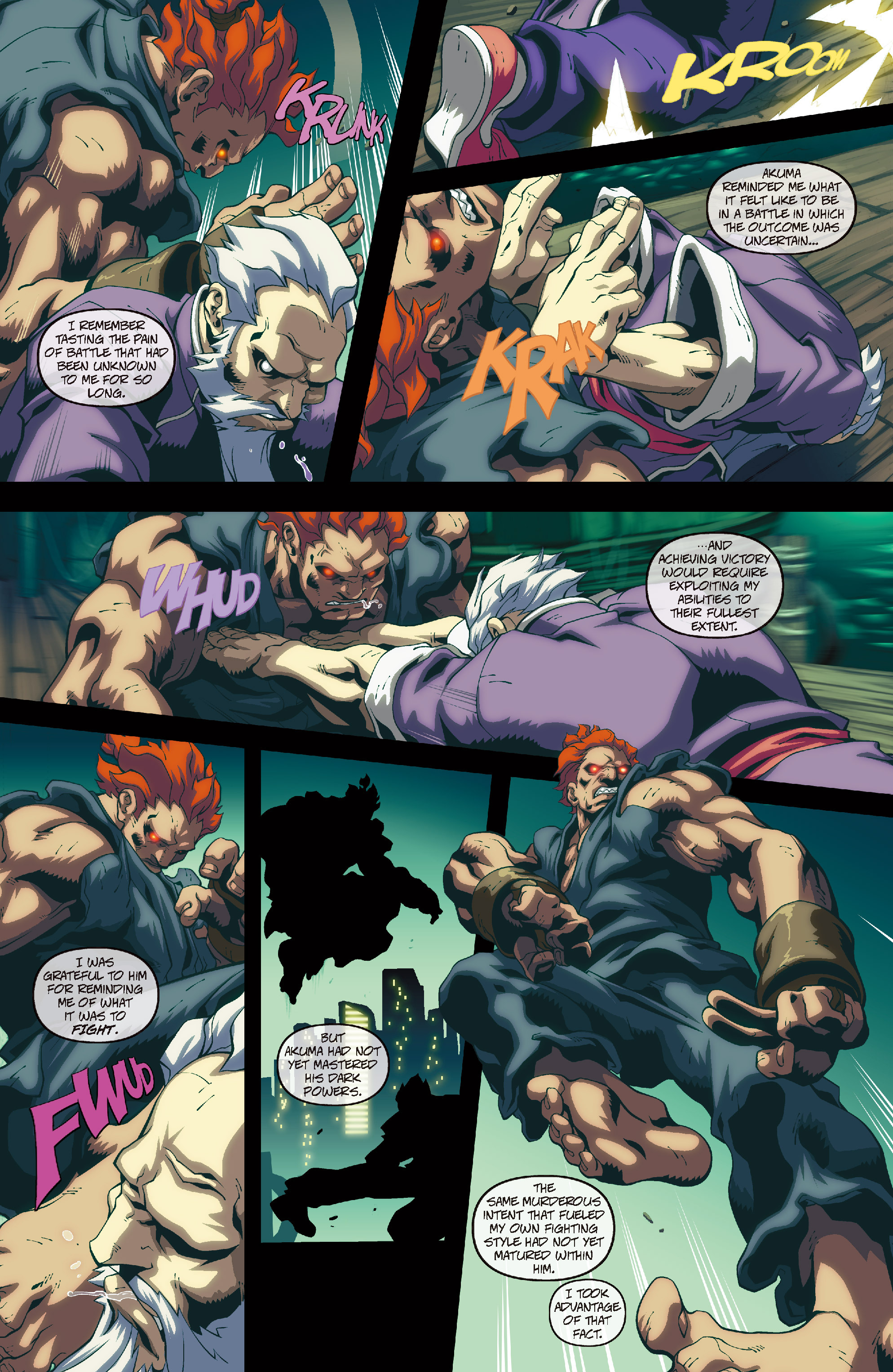 Street Fighter II chap 4 pic 6