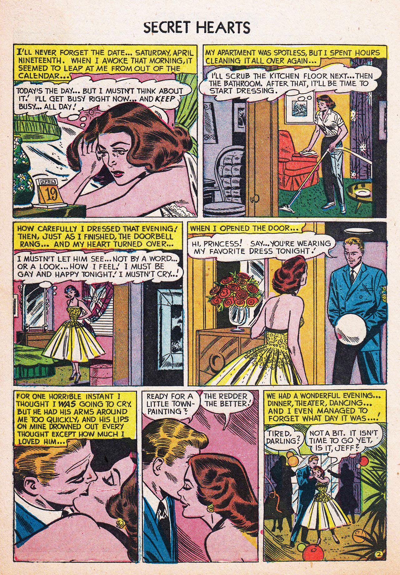 Read online Secret Hearts comic -  Issue #13 - 28