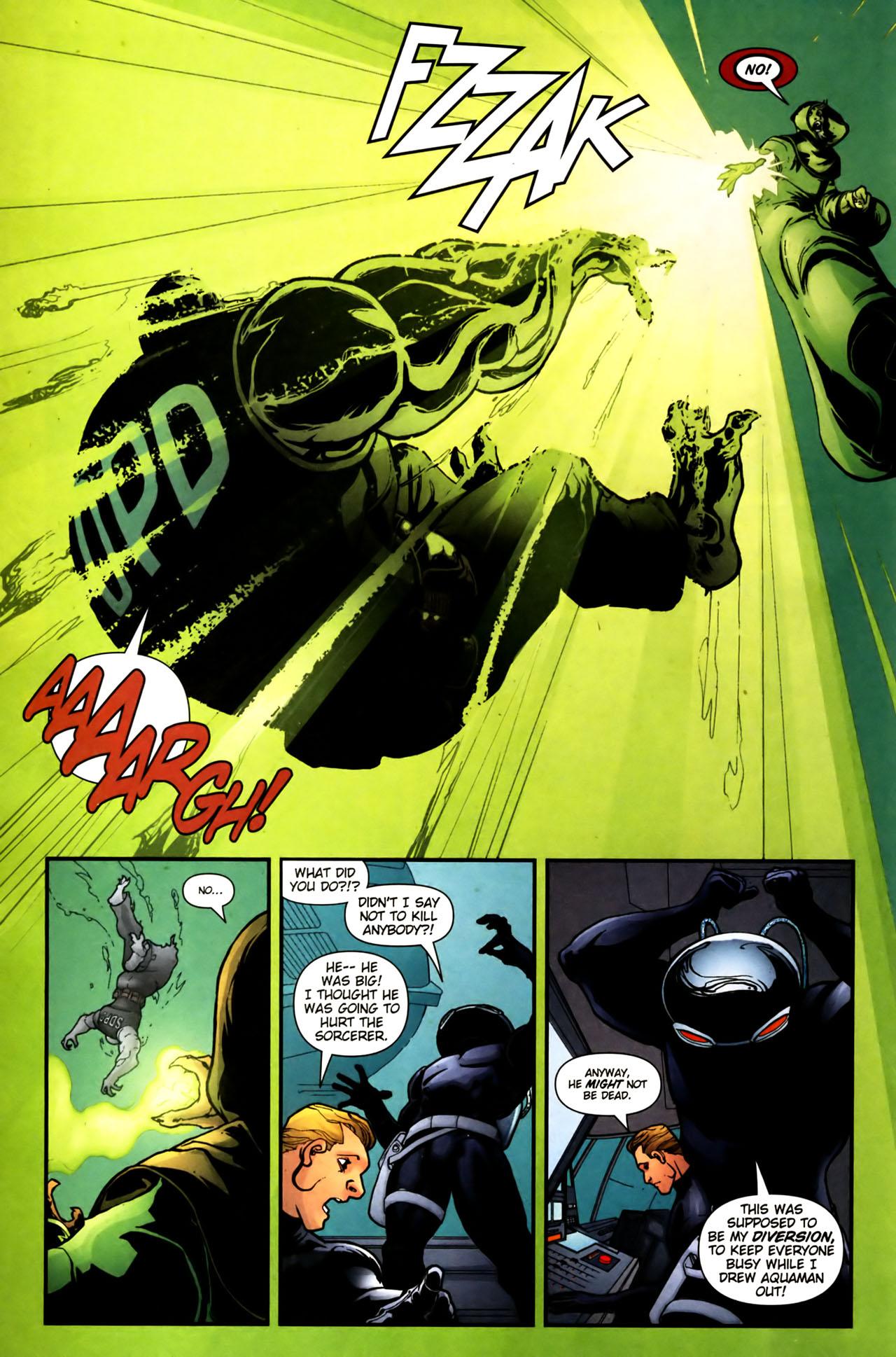 Read online Aquaman (2003) comic -  Issue #39 - 11