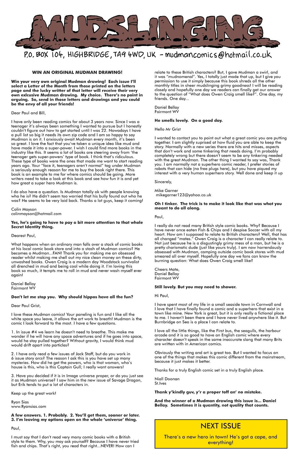 Mudman Issue #6 #6 - English 31