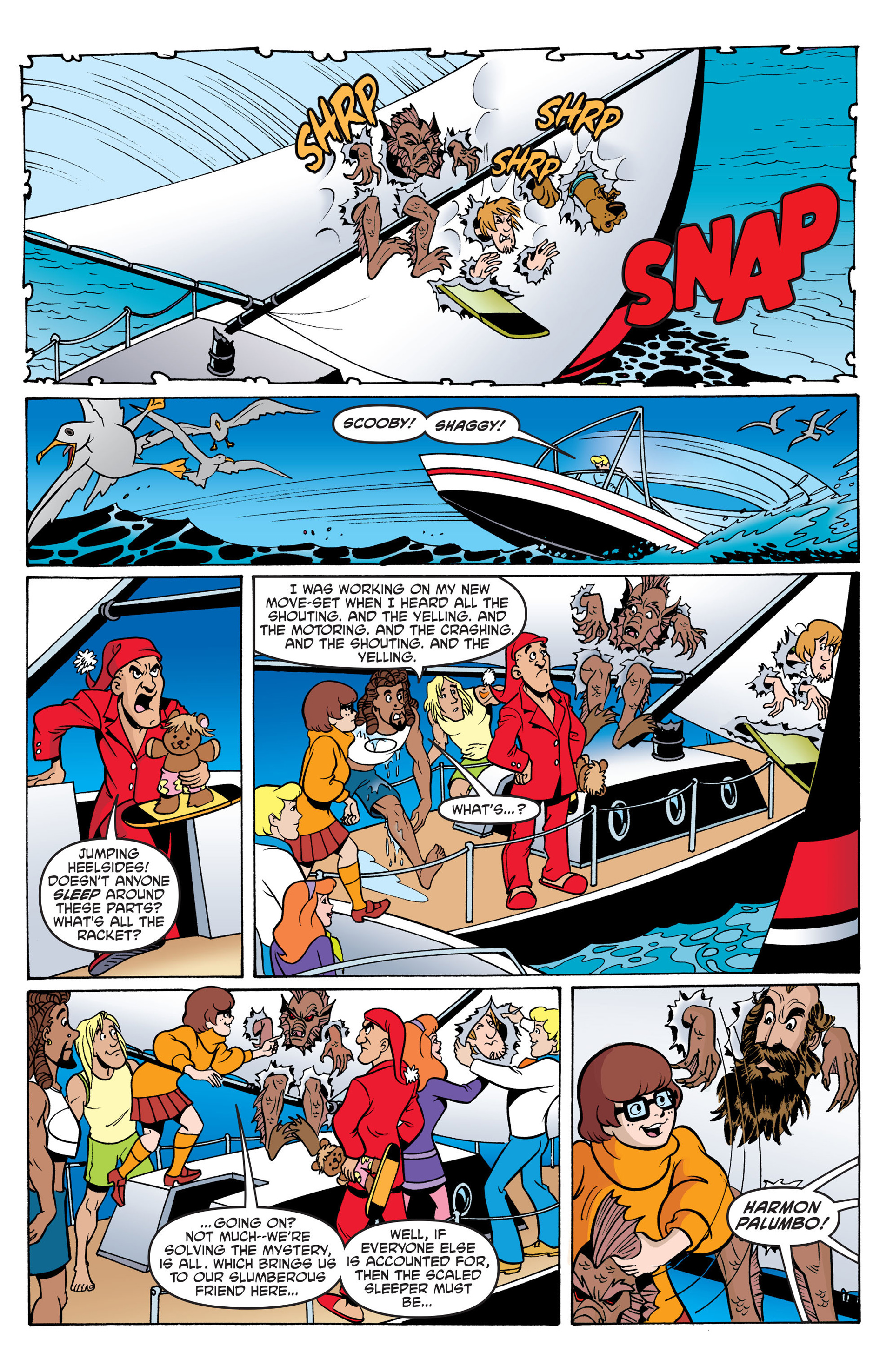 Read online Scooby-Doo: Where Are You? comic -  Issue #42 - 21