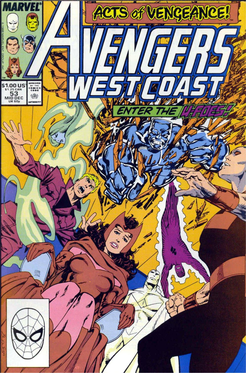 Avengers West Coast (1989) 53 Page 1